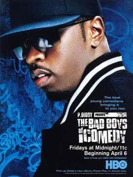 P. Diddy Presents the Bad Boys of Comedy - 11 x 17 Movie Poster - Style A