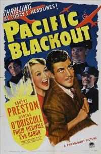 Pacific Blackout - 27 x 40 Movie Poster - Style A
