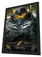 Pacific Rim - 27 x 40 Movie Poster - Style A - in Deluxe Wood Frame