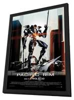 Pacific Rim - 11 x 17 Movie Poster - Style D - in Deluxe Wood Frame
