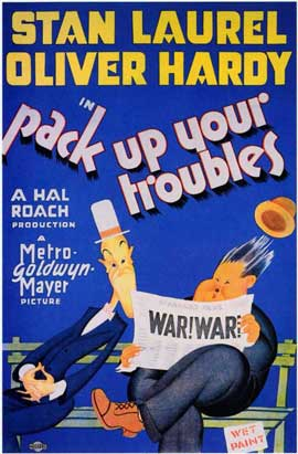 Pack Up Your Troubles - 11 x 17 Movie Poster - Style A