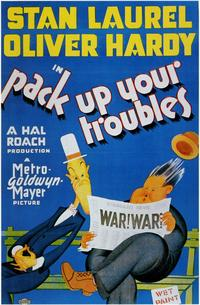 Pack Up Your Troubles - 11 x 17 Movie Poster - Style B