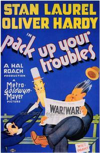 Pack Up Your Troubles - 43 x 62 Movie Poster - Bus Shelter Style A