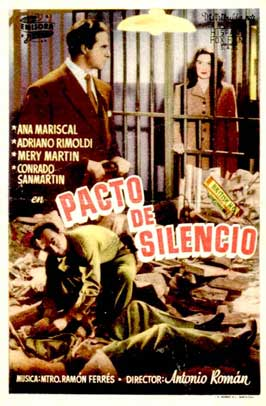 Pacto de silencio - 11 x 17 Movie Poster - Spanish Style A