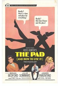 Pad and How to Use It - 11 x 17 Movie Poster - Style A