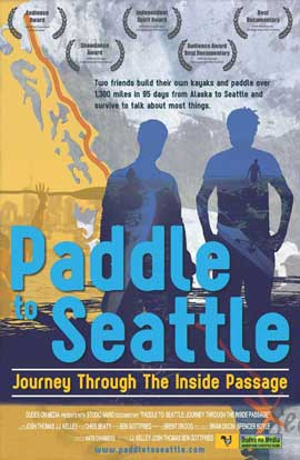 Paddle to Seattle: Journey Through the Inside Passage - 11 x 17 Movie Poster - Style B