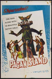 Pagan Island - 11 x 17 Movie Poster - Style A