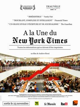 Page One: Inside the New York Times - 11 x 17 Movie Poster - French Style A
