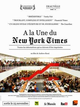 Page One: Inside the New York Times - 27 x 40 Movie Poster - French Style A