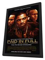 Paid in Full - 27 x 40 Movie Poster - Style A - in Deluxe Wood Frame