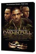 Paid in Full - 27 x 40 Movie Poster - Style B - Museum Wrapped Canvas