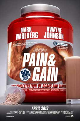 Pain and Gain - 11 x 17 Movie Poster - Style B