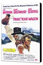 Paint Your Wagon - 11 x 17 Movie Poster - Style A - Museum Wrapped Canvas