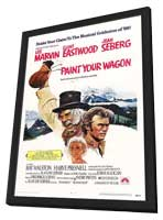 Paint Your Wagon - 27 x 40 Movie Poster - Style B - in Deluxe Wood Frame