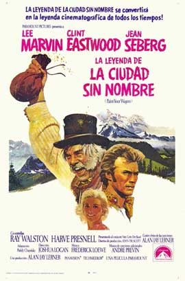 Paint Your Wagon - 11 x 17 Movie Poster - Spanish Style A