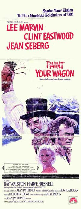 Paint Your Wagon - 14 x 36 Movie Poster - Insert Style A