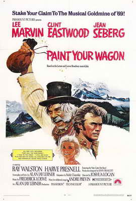 Paint Your Wagon - 27 x 40 Movie Poster - Style B