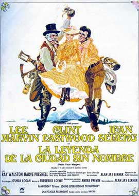 Paint Your Wagon - 11 x 17 Movie Poster - Spanish Style B