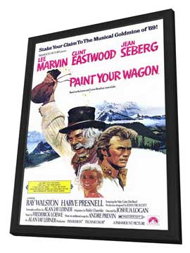 Paint Your Wagon - 11 x 17 Movie Poster - Style A - in Deluxe Wood Frame