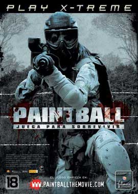 Paintball - 11 x 17 Movie Poster - Spanish Style A