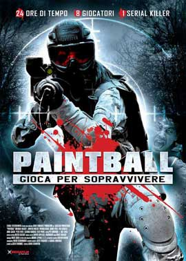 Paintball - 27 x 40 Movie Poster - Italian Style A