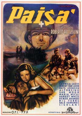 Paisan - 27 x 40 Movie Poster - Italian Style A