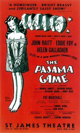 Pajama Game, The  (Broadway) - 14 x 22 Poster - Style A