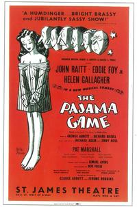 Pajama Game, The  (Broadway) - 11 x 17 Poster - Style A