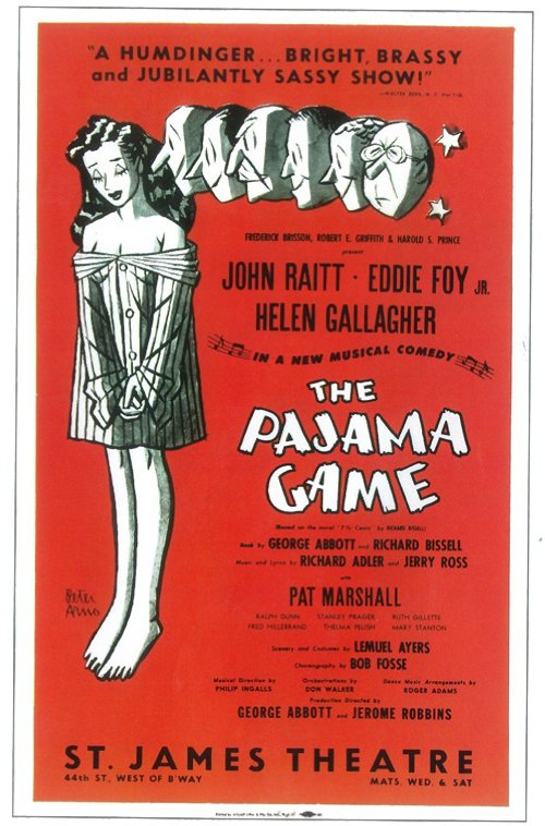 Pajama Game The Broadway Movie Posters From Movie