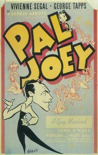 Pal Joey (Broadway) - 14 x 22 Poster - Style B
