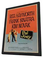 Pal Joey - 11 x 17 Movie Poster - Style B - in Deluxe Wood Frame