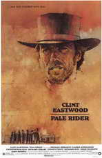 Pale Rider - 11 x 17 Movie Poster - Style A