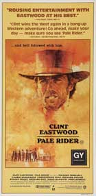 Pale Rider - 14 x 36 Movie Poster - Insert Style A
