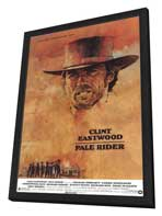 Pale Rider - 11 x 17 Movie Poster - Style A - in Deluxe Wood Frame