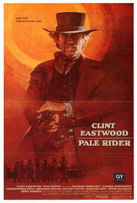 Pale Rider - 27 x 40 Movie Poster - Style B