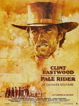 Pale Rider - 11 x 17 Movie Poster - French Style A