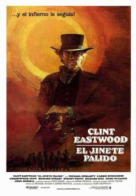 Pale Rider - 27 x 40 Movie Poster - Spanish Style A