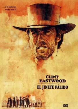Pale Rider - 11 x 17 Movie Poster - Spanish Style C