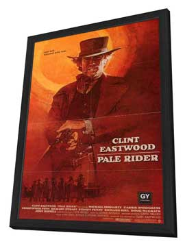 Pale Rider - 11 x 17 Movie Poster - Style B - in Deluxe Wood Frame