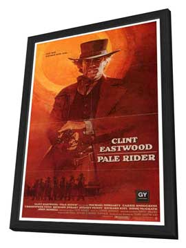 Pale Rider - 27 x 40 Movie Poster - Style B - in Deluxe Wood Frame