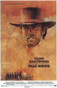 Pale Rider - 11 x 17 Movie Poster - Style A - Museum Wrapped Canvas