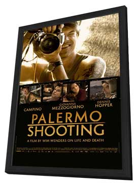Palermo Shooting - 11 x 17 Movie Poster - Style A - in Deluxe Wood Frame