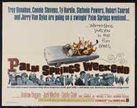 Palm Springs Weekend - 30 x 40 Movie Poster - Style A