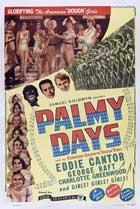 Palmy Days - 27 x 40 Movie Poster - Style A