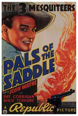 Pals of the Saddle - 27 x 40 Movie Poster - Style A