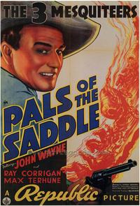 Pals of the Saddle - 43 x 62 Movie Poster - Bus Shelter Style A