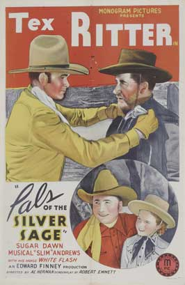 Pals of the Silver Sage - 27 x 40 Movie Poster - Style A