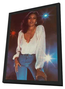 Pam Grier - 11 x 17 Movie Poster - Style A - in Deluxe Wood Frame