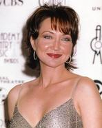 Pam Tillis - Pam Tills Portrait in Silver Dress