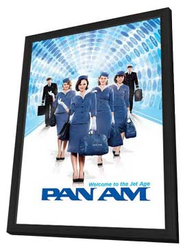 Pan Am (TV) - 27 x 40 TV Poster - Style A - in Deluxe Wood Frame